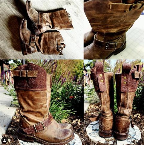 Colorado Handmade Leather Boot repair