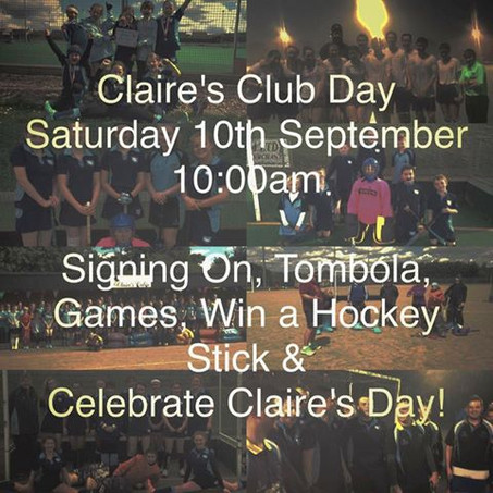 Claire's Club Day Announced