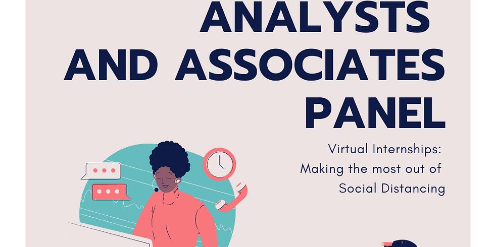 Online Q&A - Analysts & Associates Panel