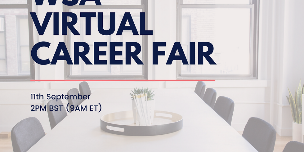 WSA Virtual Career Fair