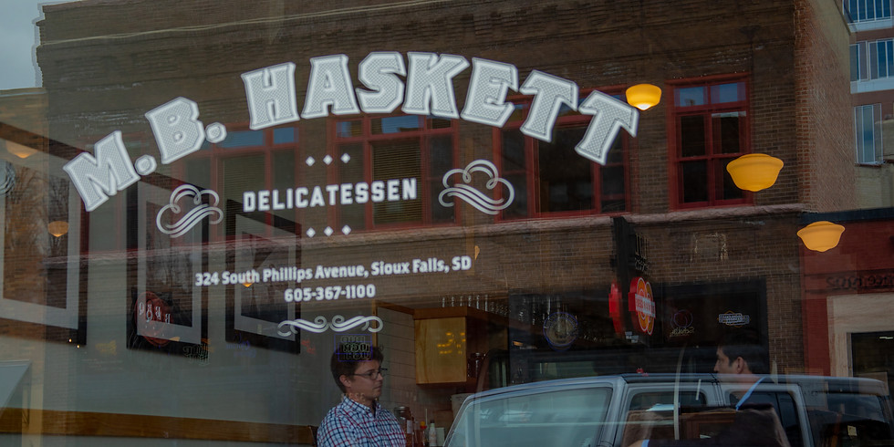 Check in w/ Dan at M.B. Haskett