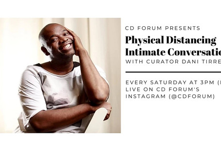 June 2020 - Physical Distancing: Intimate Conversations