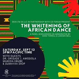 Intimate Conversations | Special Topic: The Whitening of African Dance