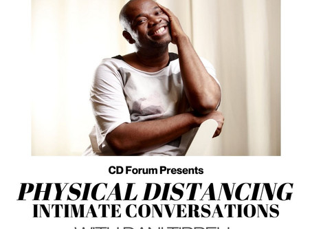 April 2020 - Physical Distancing Intimate Conversations