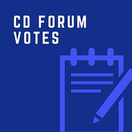 The CD Forum Team Votes