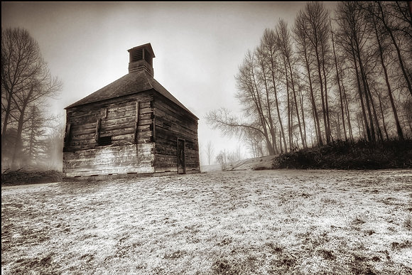 Hops shed - Fall city, Washington