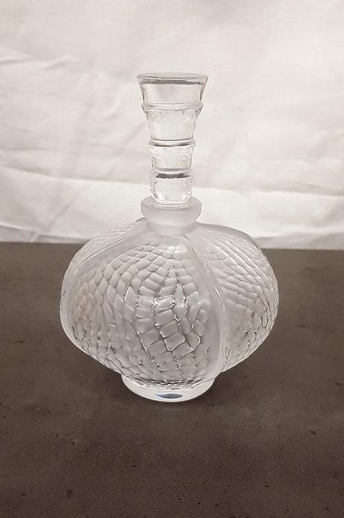 """Antike Lalique """"Eliselles"""" Entworfen von Marie Claude Parfümflasche"""