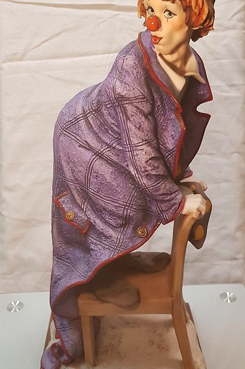 Antique Capodimonte The Merry Clown Giuseppe Armani Number 0402
