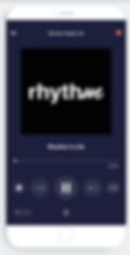 Rhythm in Tunein App.png