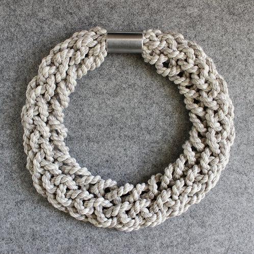 8 Strand Plait Necklace