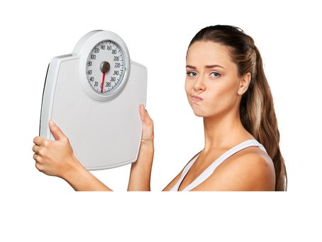 Are you fixated on the weighing scales?