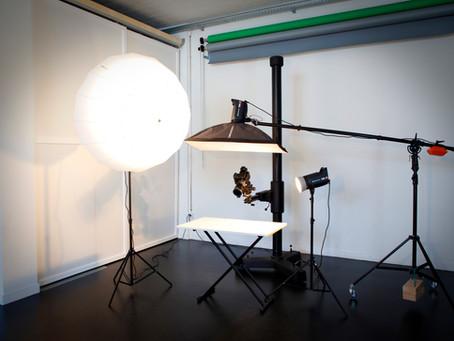 Voici mon studio !