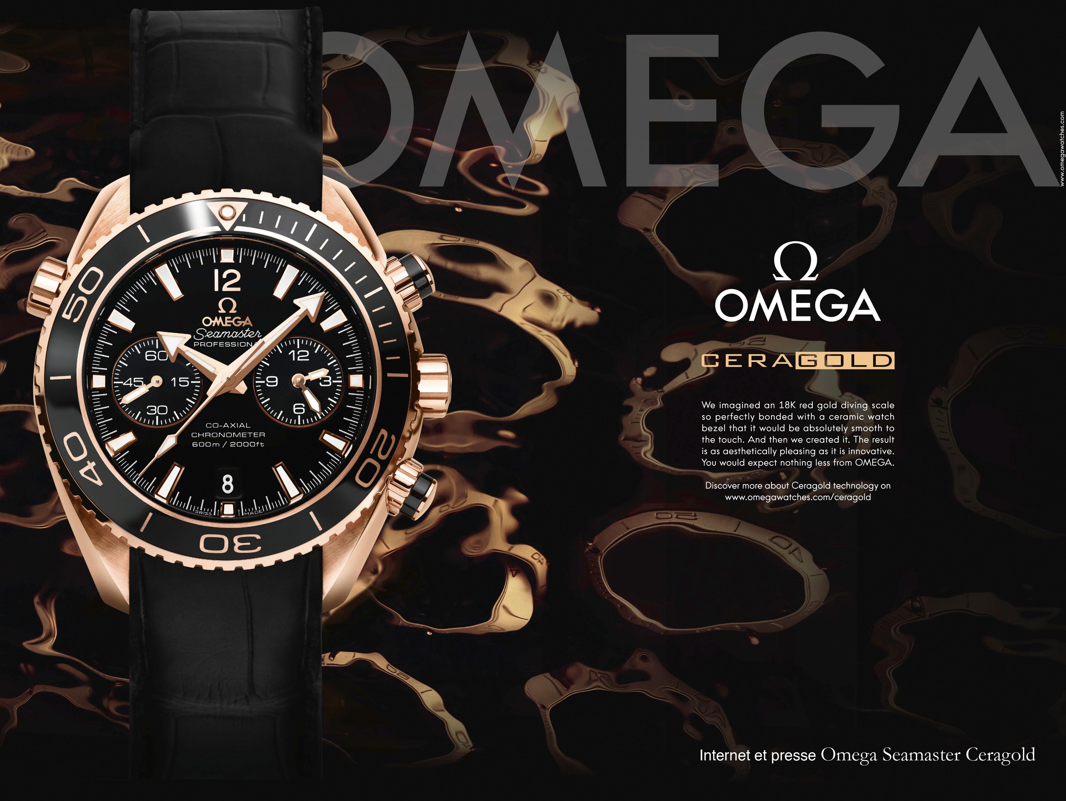 OMEGA Seamaster Ceragold