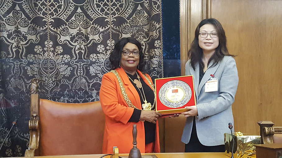 Leeds welcomes Chinese Olympic Committee