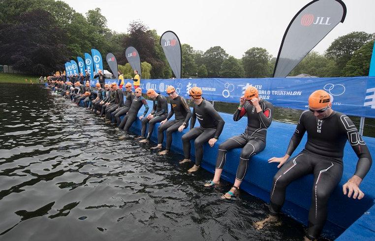 ITU World Triathlon Series Leeds. (credi
