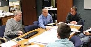 Estimating team meeting