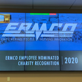 ERMCO Supports Employee Nominated Charities