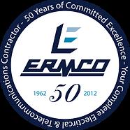ERMCO 50 Years Logo