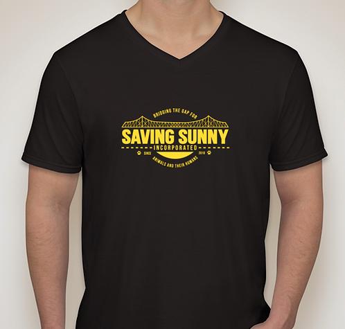 Saving Sunny Bridge V-Neck Tee