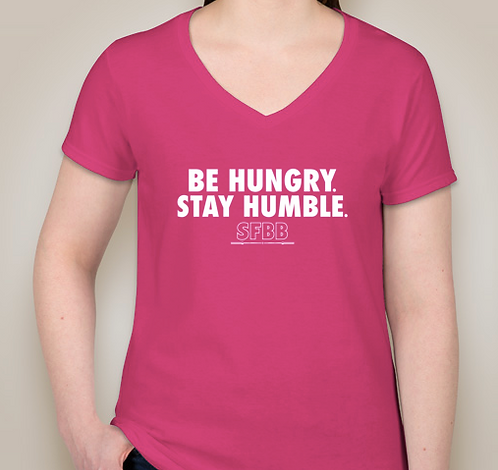 Solafide Be Hungry. Women's Performance V-Neck