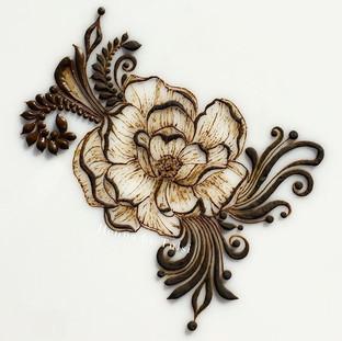 Flower inspired by _taro_henna ❤️_•_•_•_#henna #boho #hennafamily #wakeupandmakeup #mehndi #mehendi #mehndidesign #hennadesign #design #henn