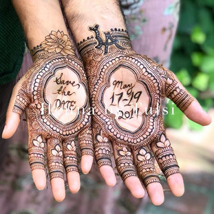 His&Her henna❤️_(please give credit if y