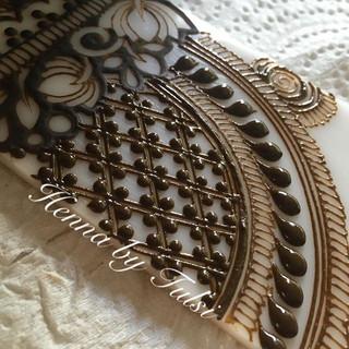 A taste of bridal netting ❤️❤️•_•_•_•_•_ #henna #boho #hennafamily #wakeupandmakeup #mehndi #mehendi #mehndidesign #hennadesign #design #hen