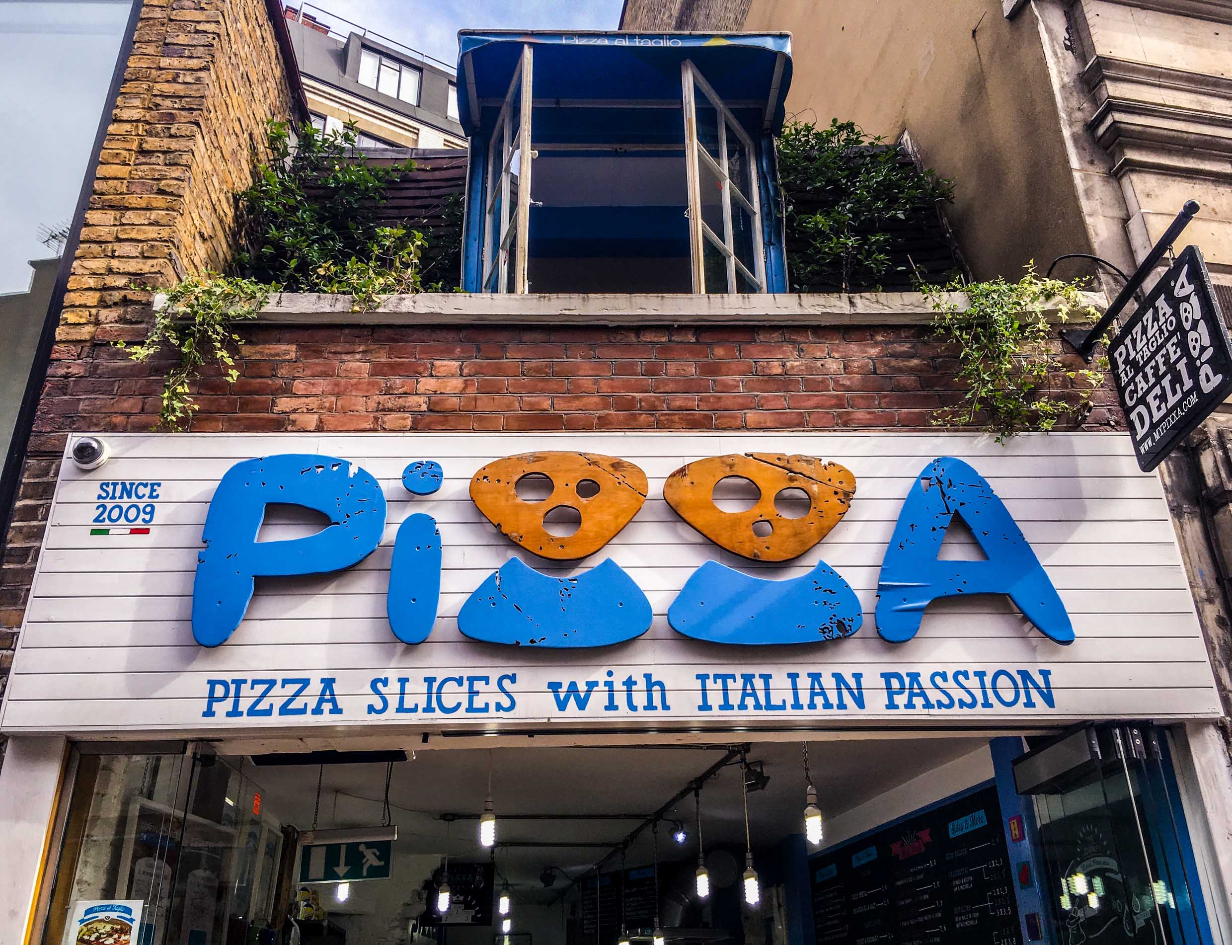 Pizza farringdon