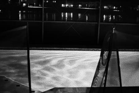 Pool at night. Florida