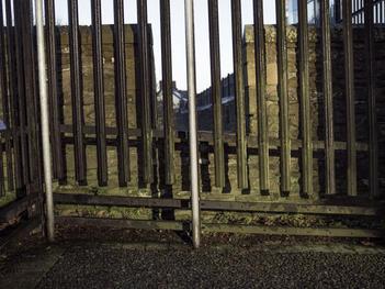 Security Fence. Grand Parade