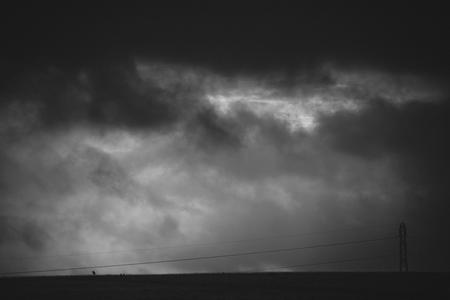 Dark Skies over Cleeve Common