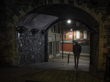 Castle Gate. Derry City Wall