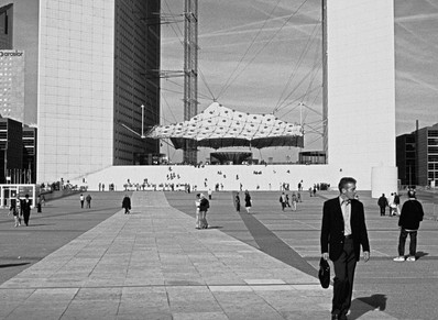 La Défense, Paris - Black and White Film