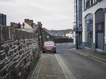 Magazine Stree Upper. Derry City Wall