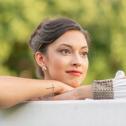 Danielle portfolio photo shoot at Wooldridge Park in Austin TX