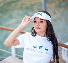 American Coastal product shoot with Esperanza on a yacht near Round Rock TX new road studios