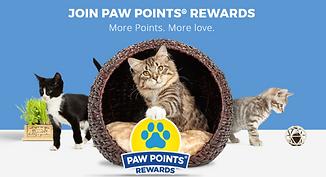 Paw Points Rewards