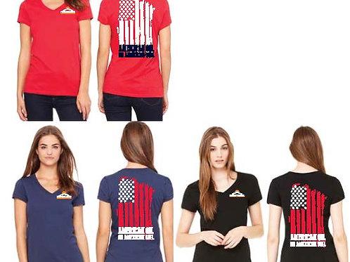 Women's Jersey Short-Sleeve V-Neck T-Shirt