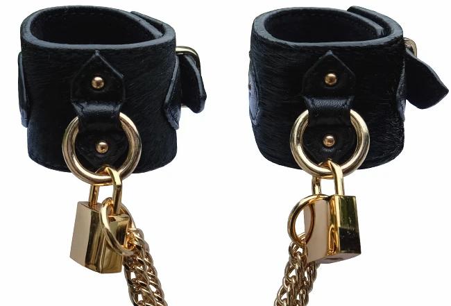Wrist Cuffs w/ Chain - The Model Traitor