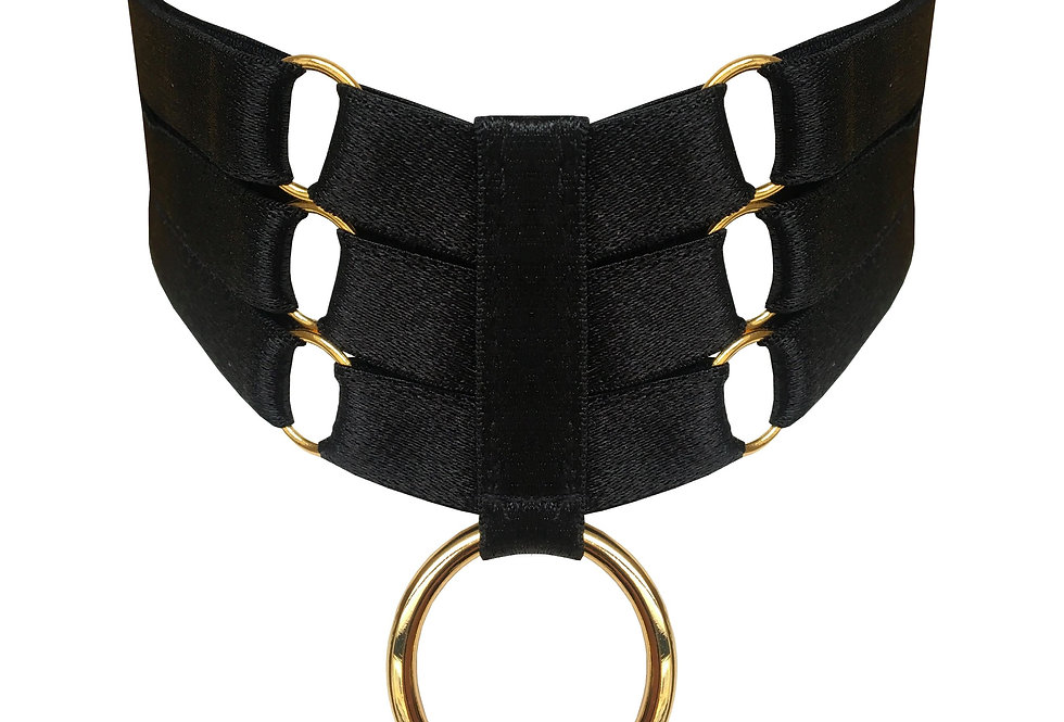 Bondage Collar Ring Atelier Bordelle Killed in Action Luxury Lingerie Store