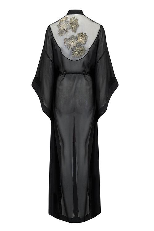 Ayako Embroidery Kimono Tatu Couture Robe Killed in Action Luxury Lingerie