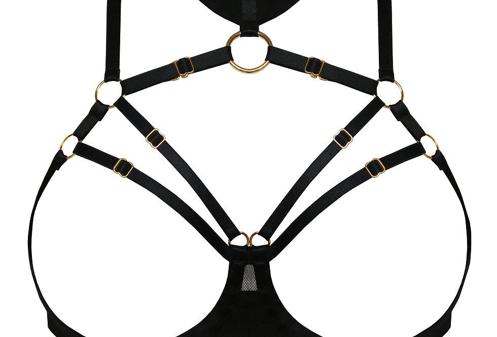 Merida Ouvert Wire Bra Atelier Bordelle Killed in Action Luxury Lingerie Store