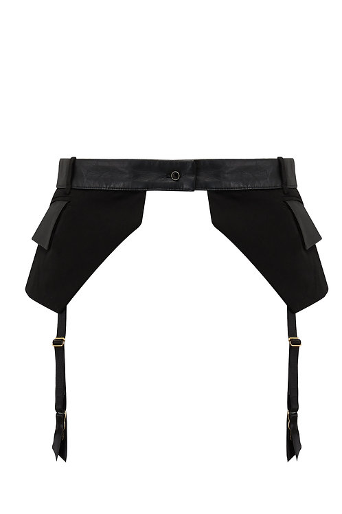 Talia Pocket Belt Susspender Garter Belt Tatu Couture Killed in Action Lingerie