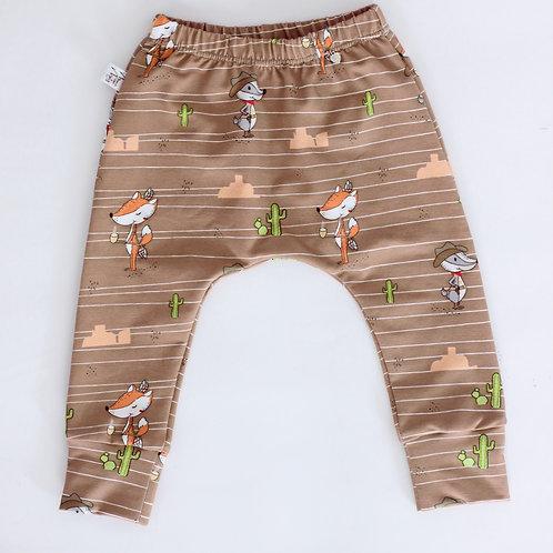 """Slim Harem Pants """"Cowboy & Indianer"""", Gr. 80"""