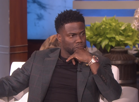 Kevin Hart Stops By The Ellen Show To Talk All Things Oscar Controversy, New Years Eve, + MORE