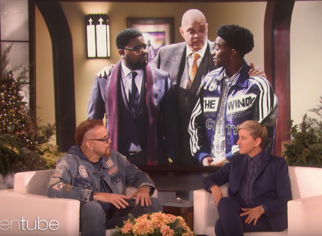Sinbad Talks Television, Fashion, + Other Things With Ellen