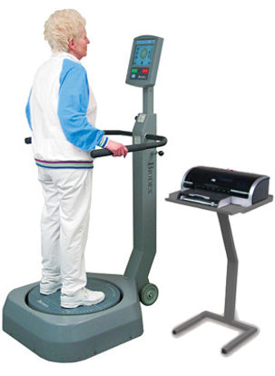 Patients of Physical Therapy Plus CNY of Syracuse can be evaluated on NeuroCom Balance Master equipment.