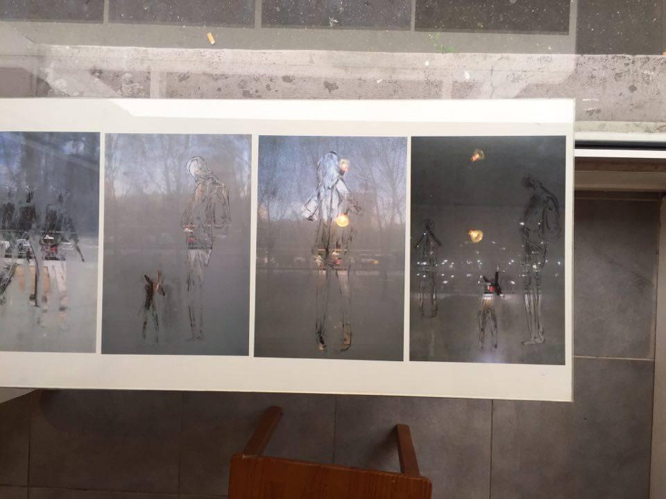 installation Sarah Dugrip