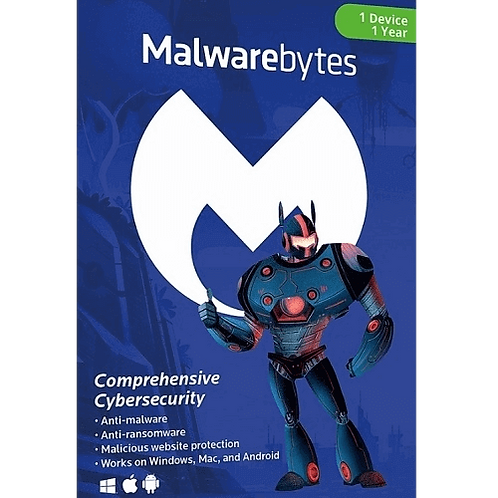 Malwarebytes Premium - 1 Year
