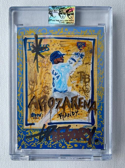 Topps X Gregory Siff - Randy Arozarena World Series -  Chrome Autograph